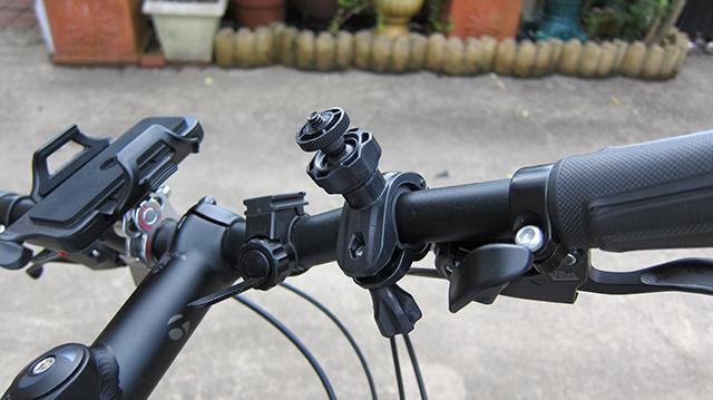 クロスバイク カメラマウント