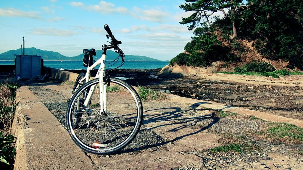 天気が良かったので遠賀郡芦屋町「浪懸・狩尾岬サイクリングロード」をサイクリング