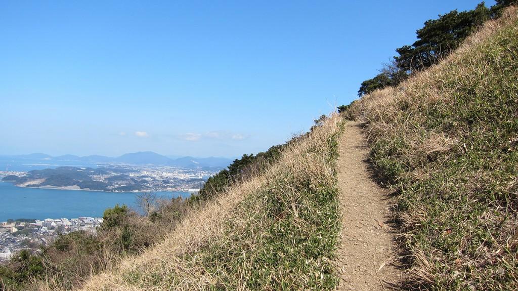 福岡県北九州市小倉北区の「足立山」目的のトレッキングのはずが「小文字山」からの景色がとても良かったので満足して帰った