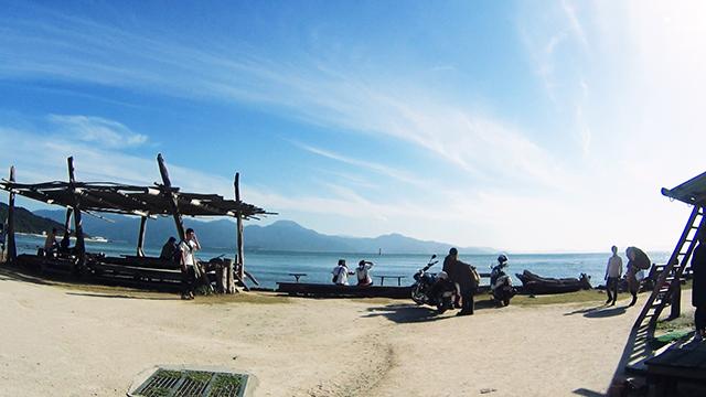 糸島 i-1 グランプリに行ったあとに「またいちの塩」に寄って塩プリンを食べる