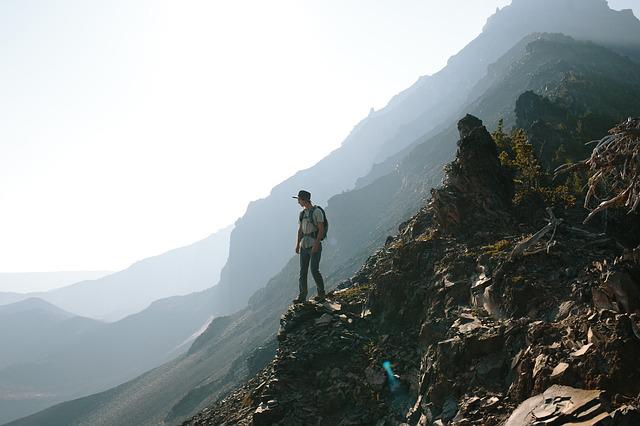 鷹見神社登山口から九州自然歩道をトレッキング