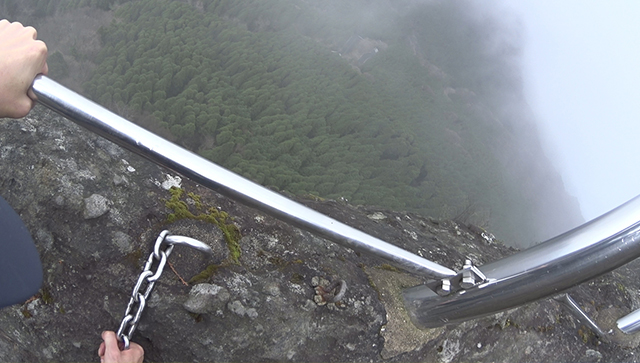 英彦山の望雲台に登ったらビックリするほど怖かった