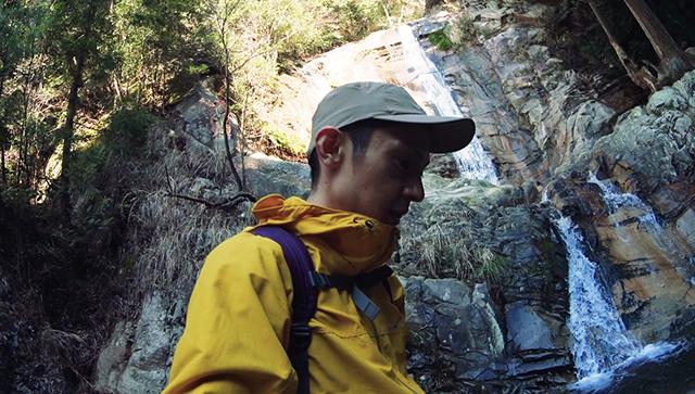 福智山へ登山 白糸の滝ルート(時間の都合で途中断念)