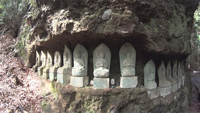 求菩提山 石像